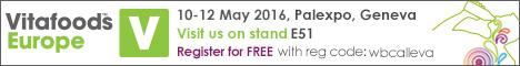 Vitafoods Europe 10-12 May 2016
