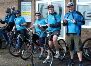 Team Smurfitt using Calleva Energy Gels
