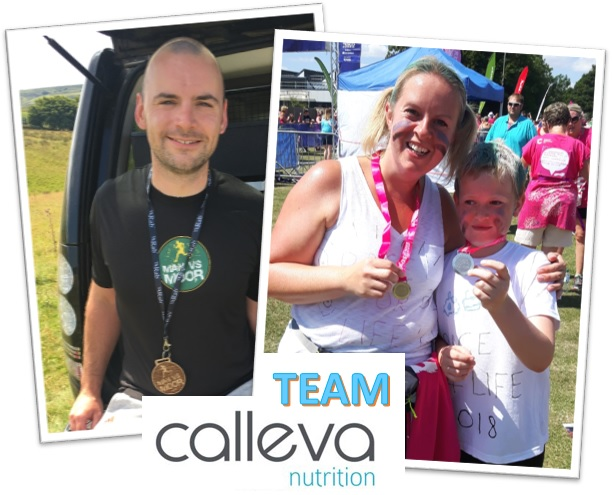Ed Ryle & Emily Carter - Some of the Calleva Team taking part in evens this summer