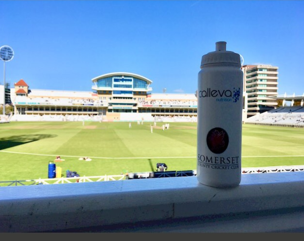 Last day of the season at Trent Bridge, staying hydrated in the summer heat!